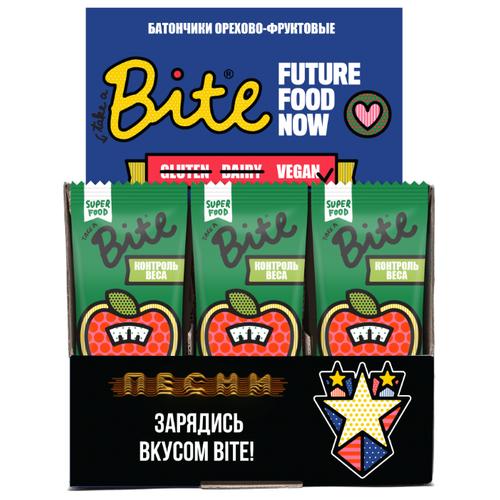 Фруктовый батончик Bite Box Контроль веса без сахара Морковь и кешью, 20 шт