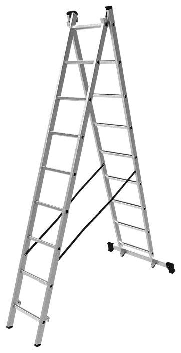 Лестница трансформер 2-секционная ОЛИМП 1220209 A