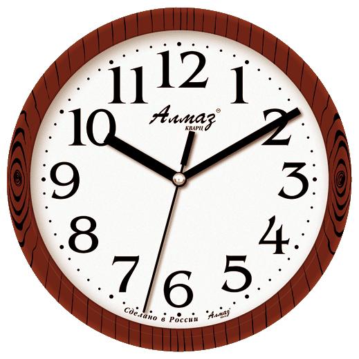 Часы настенные кварцевые Алмаз E03