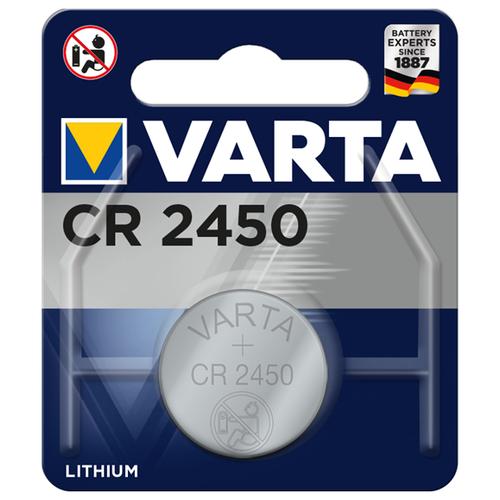 Фото - Батарейка VARTA CR2450, 1 шт. батарейка varta cr p2 1 шт