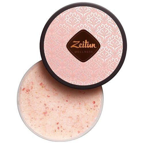 Фото - Zeitun Смягчающий скраб для тела Ритуал нежности с дамасской розой и маслом персика, 250 мл zeitun скраб для тела 4
