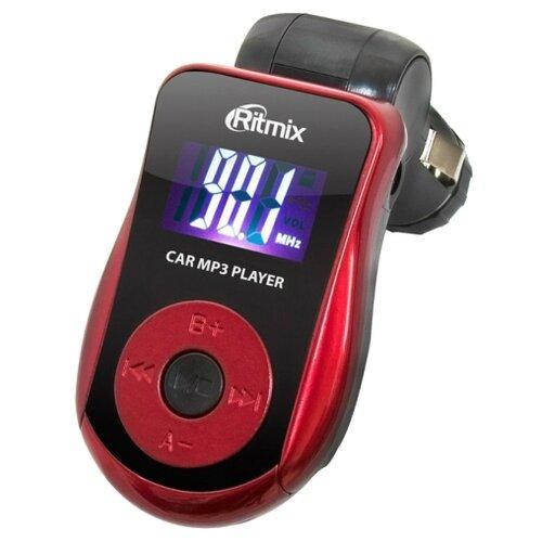 Фото - FM-трансмиттер Ritmix FMT-A720 черный / красный fm трансмиттер ritmix fmt a740 черный