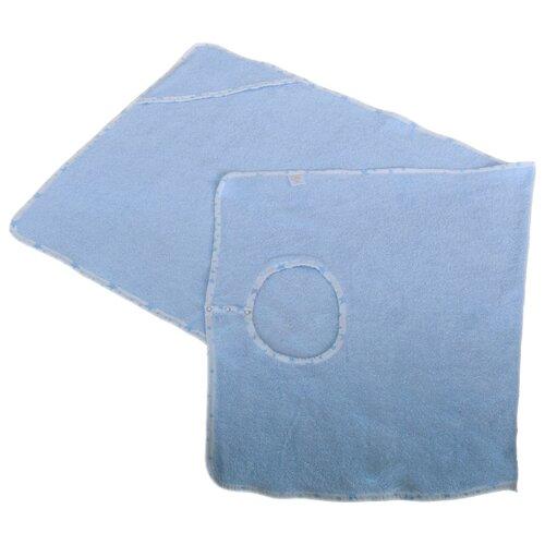 BabyBunny Полотенце фартук банное 70х140 см голубое la pastel полотенце гербера банное 70х140 см бежевый