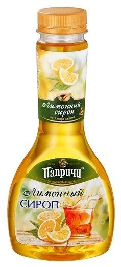 Сироп Папричи «Лимонный»