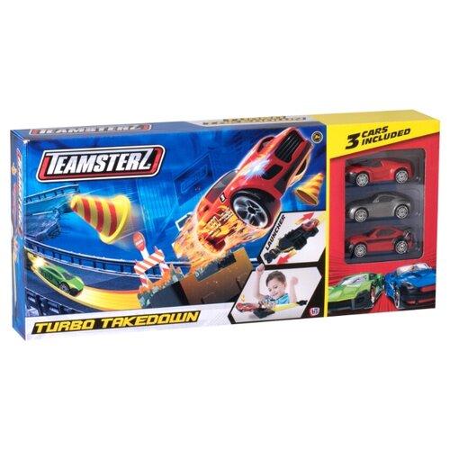 Купить Трек HTI Teamsterz Turbo Takedown, Детские треки и авторалли