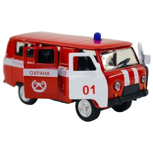 Фургон Автопанорама 1200054 1:50 красныйМашинки и техника<br>