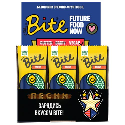 Фруктовый батончик Bite Box Тонус без сахара Кумкват, 20 шт