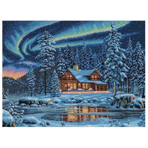 Купить Dimensions Набор для вышивания крестиком Северное сияние 41 x 30 см (35212), Наборы для вышивания