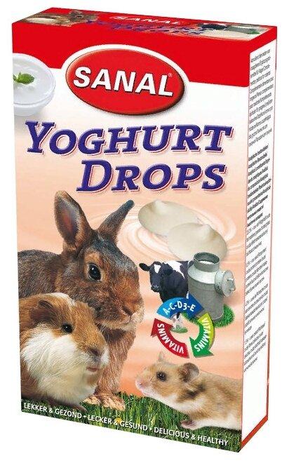 Лакомство для кроликов, грызунов SANAL Yoghurt Drops