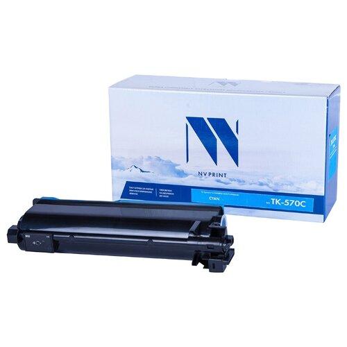 Фото - Картридж NV Print TK-570 Cyan для Kyocera, совместимый картридж nv print tk 8335 cyan для kyocera совместимый