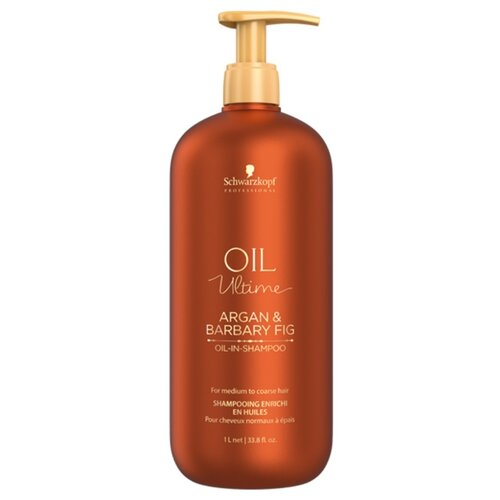 Oil Ultime шампунь Argan & Barbary Fig 1000 мл с дозатором beaver шампунь argan oil damage