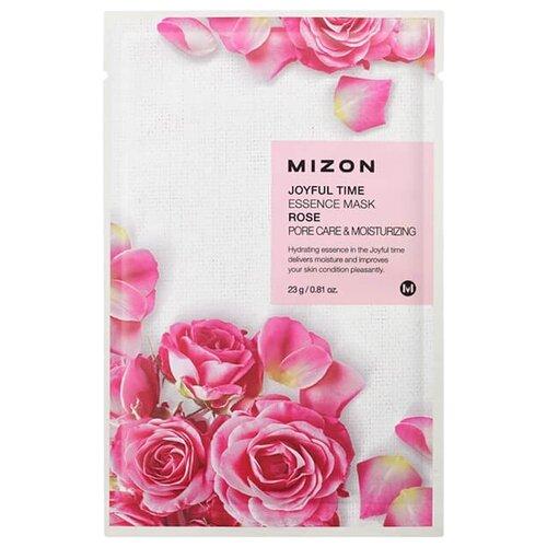 Mizon Joyful Time Essence Mask Rose тканевая маска с экстрактом лепестков розы, 23 г