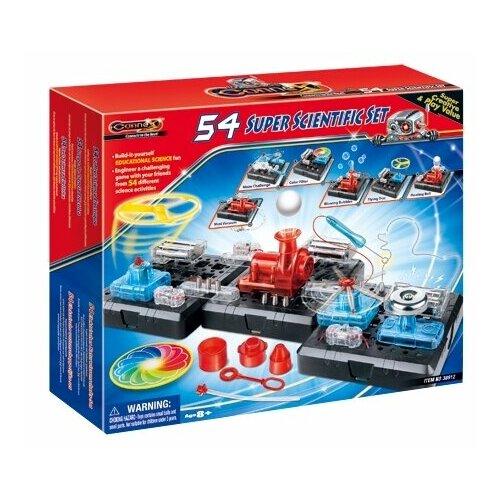 Электромеханический конструктор Amazing Toys Connex 38912 54 научных опыта amazing machines amazing aeroplanes activity book