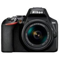 Зеркальный фотоаппарат Nikon D3500 Kit черный AF-P 18-55mm non VR