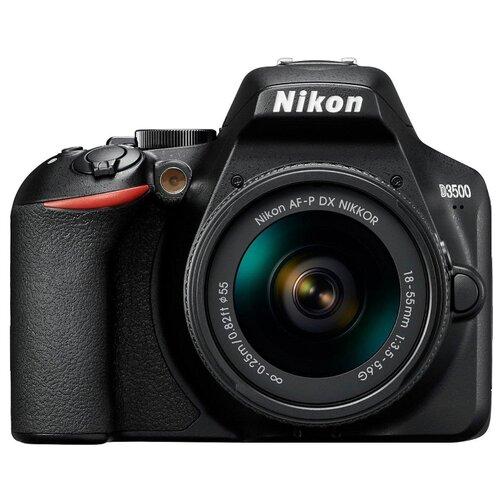 Фотоаппарат Nikon D3500 Kit черный AF-P 18-55mm non VRФотоаппараты<br>