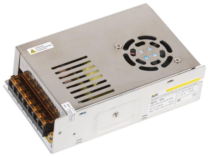 Блок питания для LED IEK LSP1-250-12-20-33-PRO 250 Вт