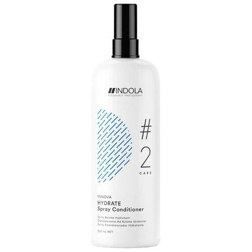 Indola Innova Care Hydrate Увлажняющий спрей-кондиционер для волос, 300 млМаски и сыворотки<br>