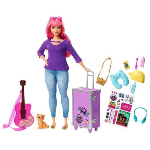 Купить Кукла Barbie Дейзи с аксессуарами, 28.5 см, FWV26, Куклы и пупсы