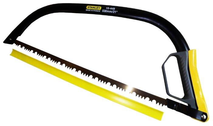Купить Лучковая пила STANLEY Pro Fleam Tooth 1-15-449 530 мм по низкой цене с доставкой из Яндекс.Маркета (бывший Беру)