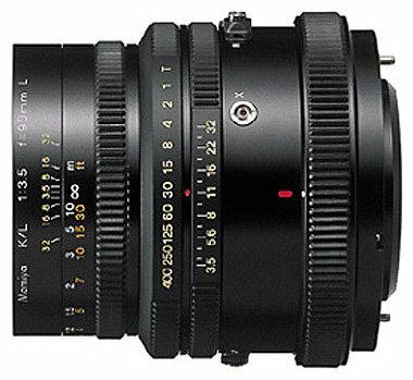 Объектив Mamiya KL 90mm f/3.5 L RZ65