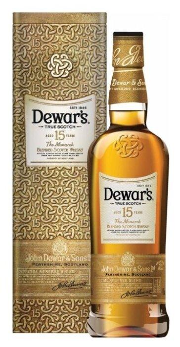Виски Dewar's The Monarch 15 лет, 0.75 л, подарочная упаковка