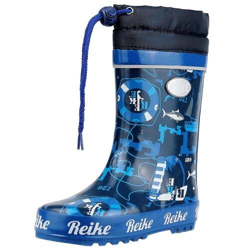Резиновые сапоги Reike размер 28, темно-синийРезиновые сапоги<br>