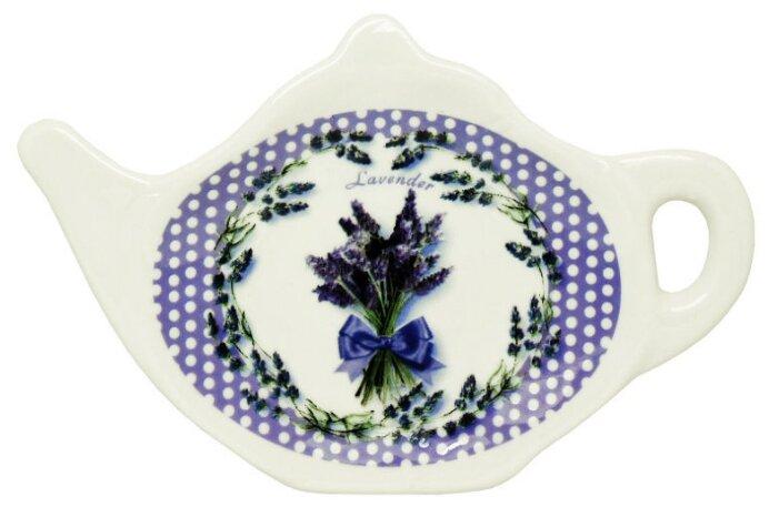 Подставка для чайных пакетиков Gift'n'Home Лаванда TB-Lavender белый/фиолетовый
