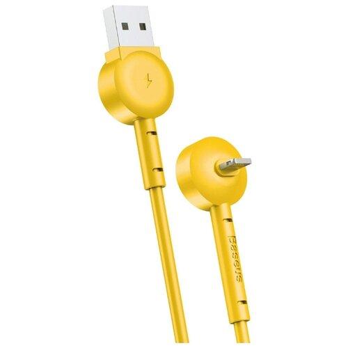 Купить Кабель Baseus Maruko USB - Lightning (CALQX) 1 м yellow