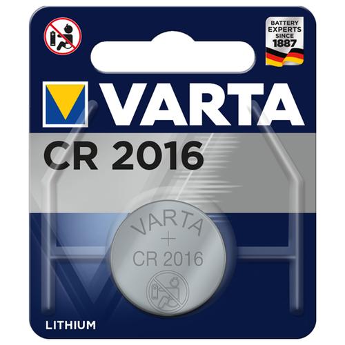 Фото - Батарейка VARTA CR2016, 1 шт. батарейка varta cr p2 1 шт