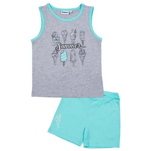 Пижама Winkiki размер 110, мятныйДомашняя одежда<br>
