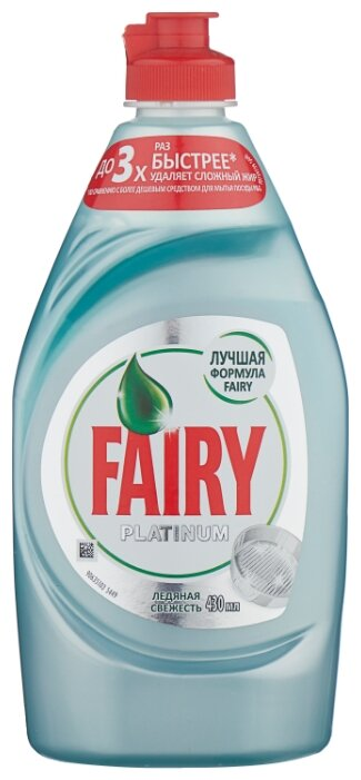 Fairy Средство для мытья посуды Platinum Ледяная свежесть