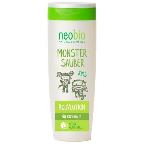 Neobio Детское молочко для тела с Био-Алоэ и Био-Календулой, 250 мл, Уход за кожей  - купить со скидкой