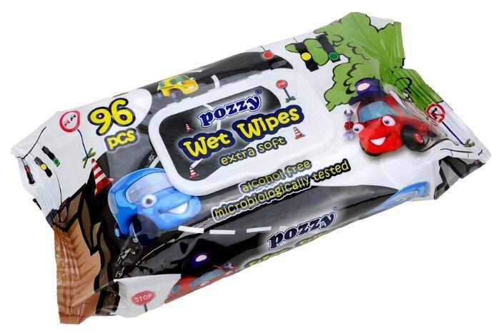 Влажные салфетки Pozzy Extra Soft Automobiles