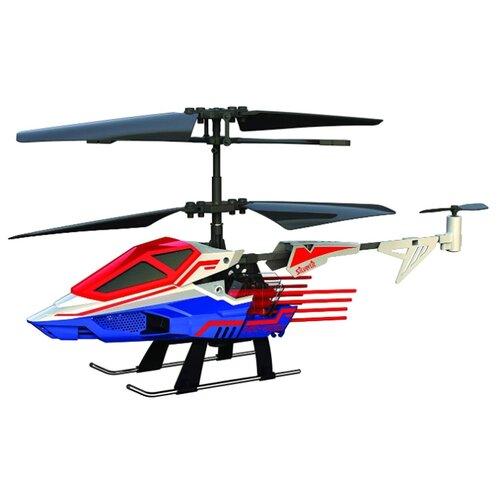 Купить Вертолет Silverlit Heli Sniper 2 (84781) 15 см синий/белый/красный, Радиоуправляемые игрушки
