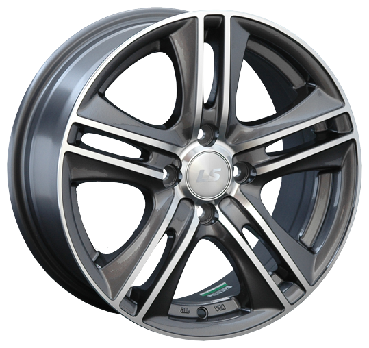 Колесный диск LS Wheels LS191 7.5x17/5x112 D57.1 ET40 GMF — купить по выгодной цене на Яндекс.Маркете