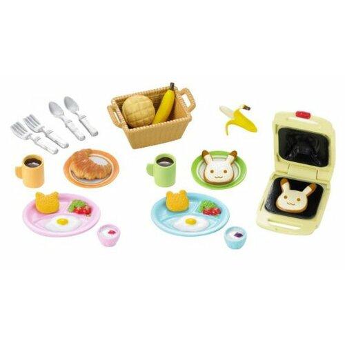 Купить Игровой набор Sylvanian Families Завтрак 5024, Игровые наборы и фигурки