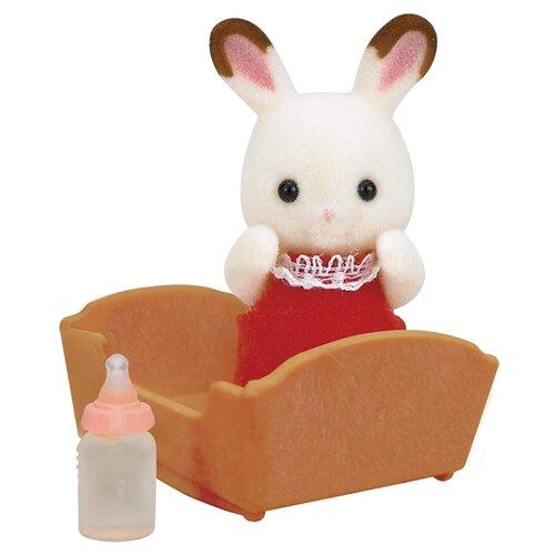 Купить Игровой набор Sylvanian Families Малыш шоколадный кролик 3410/5062, Игровые наборы и фигурки