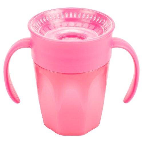Купить Чашка-непроливайка Cheers 360 с ручками, 200 мл розовый, Dr. Brown's, Поильники