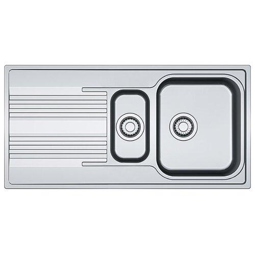 Врезная кухонная мойка 100 см FRANKE SRX 651 101.0368.322 нержавеющая сталь/полированная мойка franke agx 260 нержавеющая сталь