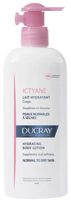 Молочко для тела Ducray Ictyane увлажняющее