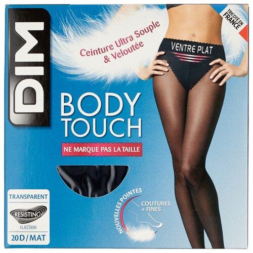 Колготки DIM Body Touch Ventre Plat 20 den, размер 4, noir (черный) колготки dim body touch ventre plat 20 den размер 1 peau doree бежевый