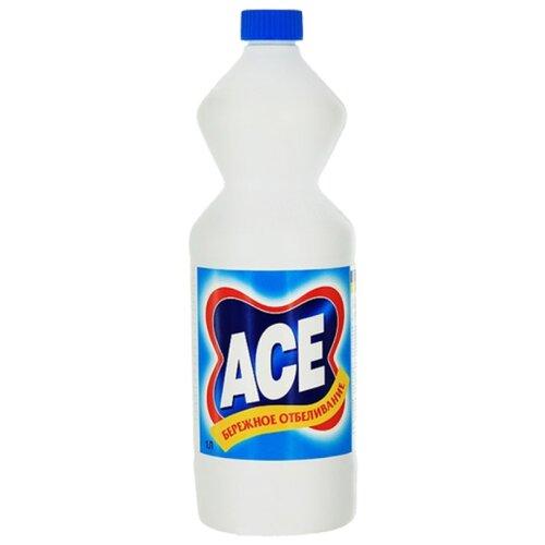 Ace Отбеливатель Бережное Отбеливание 1000 мл флаконОтбеливатели и пятновыводители<br>