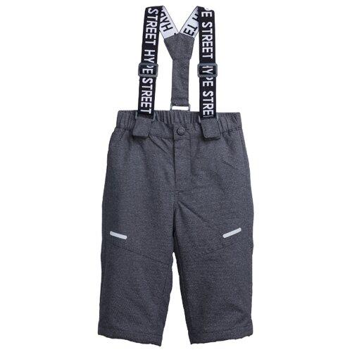 Купить Брюки playToday размер 80, серый, Полукомбинезоны и брюки
