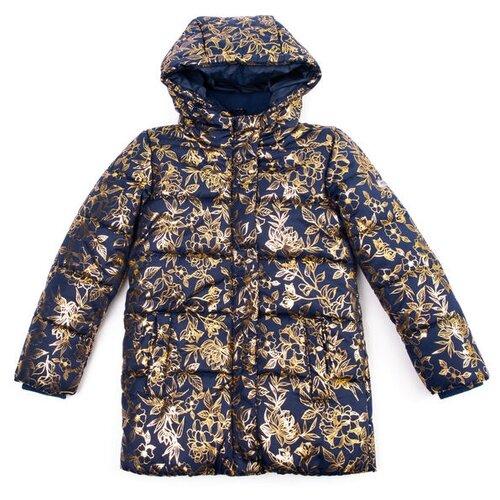 Купить Куртка playToday 382152 размер 116, синий/желтый, Куртки и пуховики
