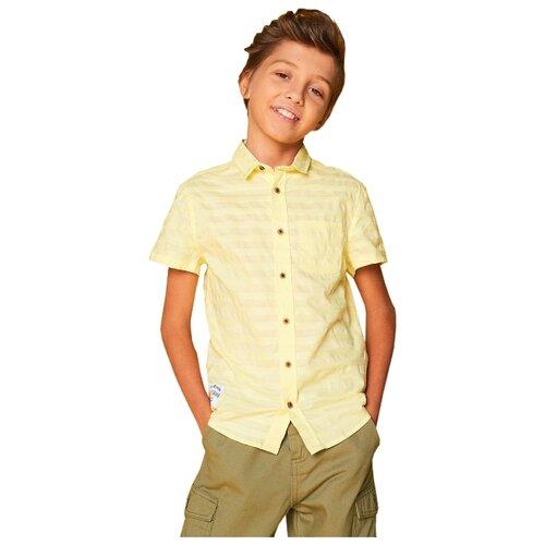 Купить Рубашка INFUNT размер 164, желтый, Рубашки