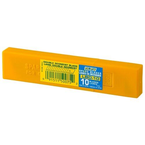 Набор сменных лезвий OLFA OL-LBD-10 (10 шт.) набор сменных лезвий olfa ol lb 10b 10 шт