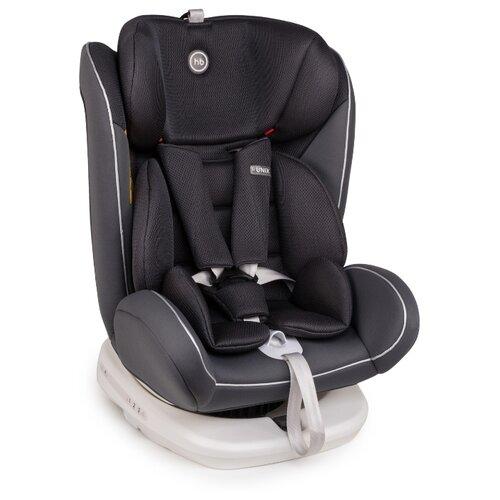 Автокресло группа 0/1/2/3 (до 36 кг) Happy Baby Unix Isofix, silver автокресло happy baby mustang 2015 gray