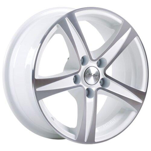 Фото - Колесный диск SKAD Sakura 6.5x15/5x112 D57.1 ET43 Алмаз белый колесный диск skad калипсо 6 5x16 5x130 d84 2 et43 черный бархат