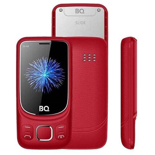 Телефон BQ 2435 Slide красный