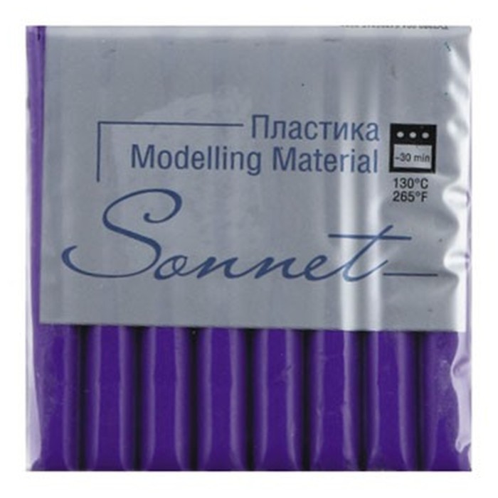 Полимерная глина Sonnet фиолетовый (5964607), 56 г